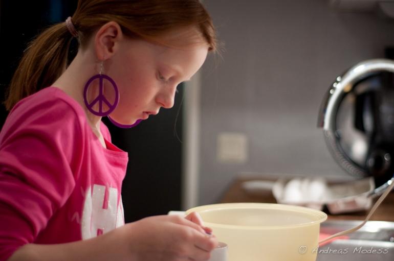 Muffinsbakning med barnen