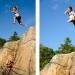 Bad från klipporna på Stegelholmen