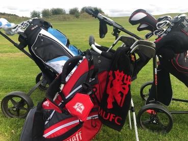Äntligen kom golfklubborna fram igen