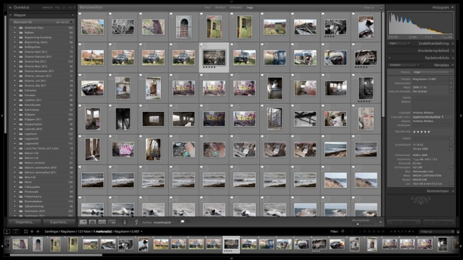 Organisering Lightroom 3