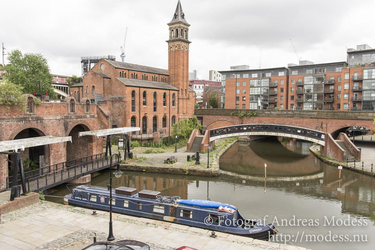 Manchester, staden där gammalt möter nytt