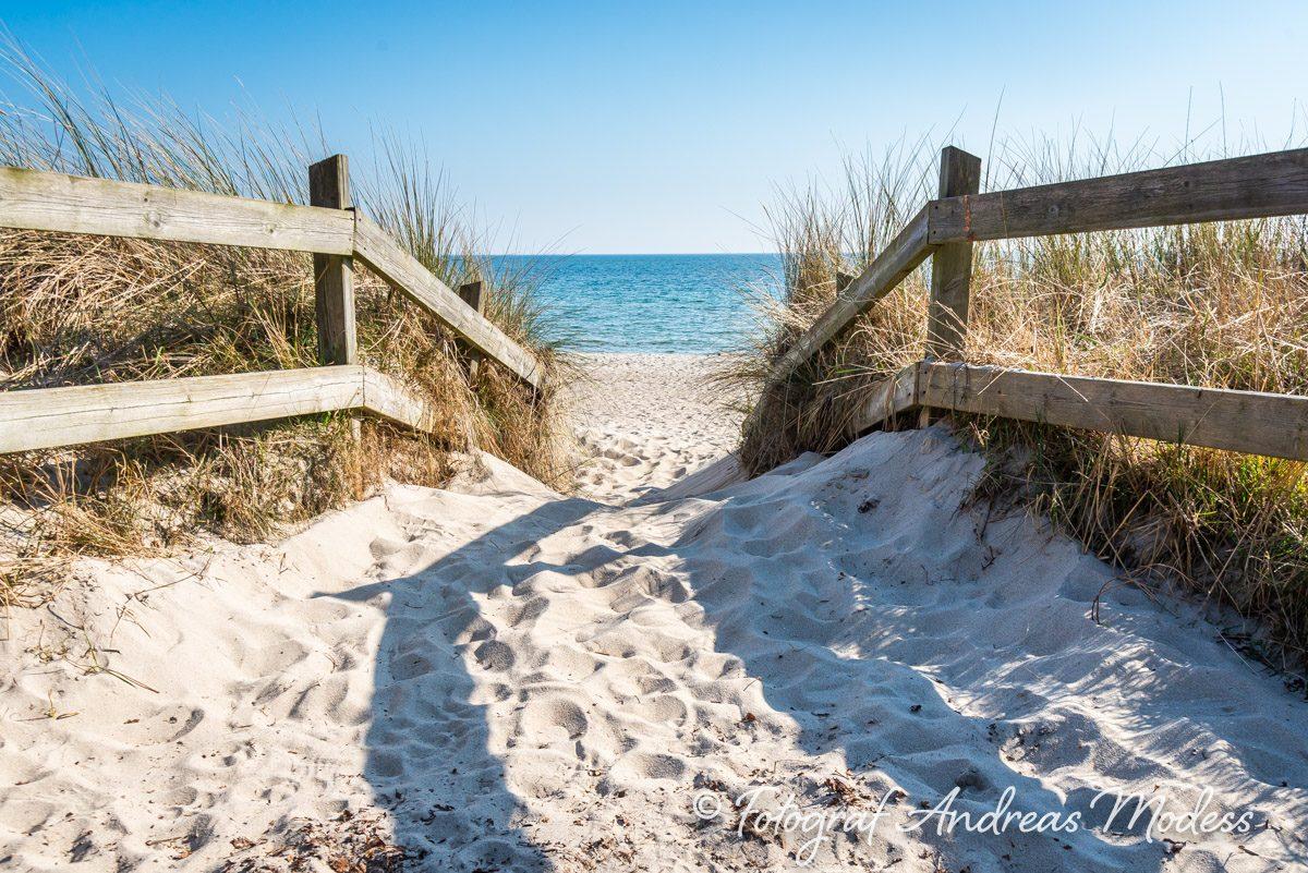 Ystad strand och strandpromenad